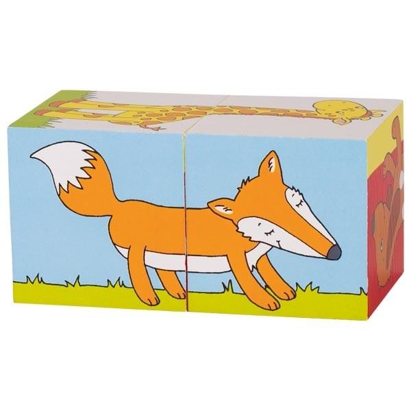 Primele mele cuburi Animale Prietenoase 0