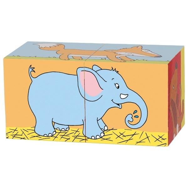 Primele mele cuburi Animale Prietenoase 10