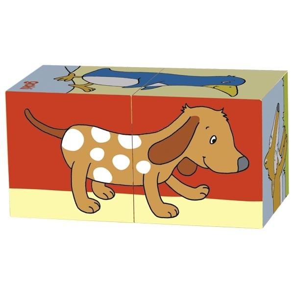 Primele mele cuburi Animale Prietenoase 1