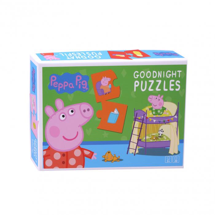 Puzzle de noapte buna cu Peppa Pig [0]