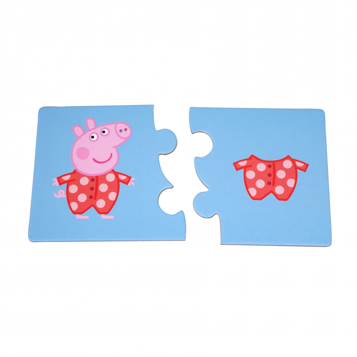 Puzzle de noapte buna cu Peppa Pig [1]