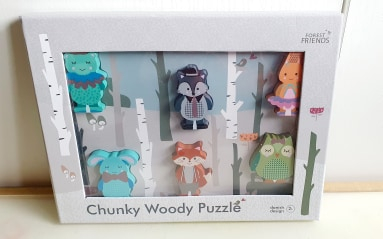 Puzzle lemn - Forest Friends [1]