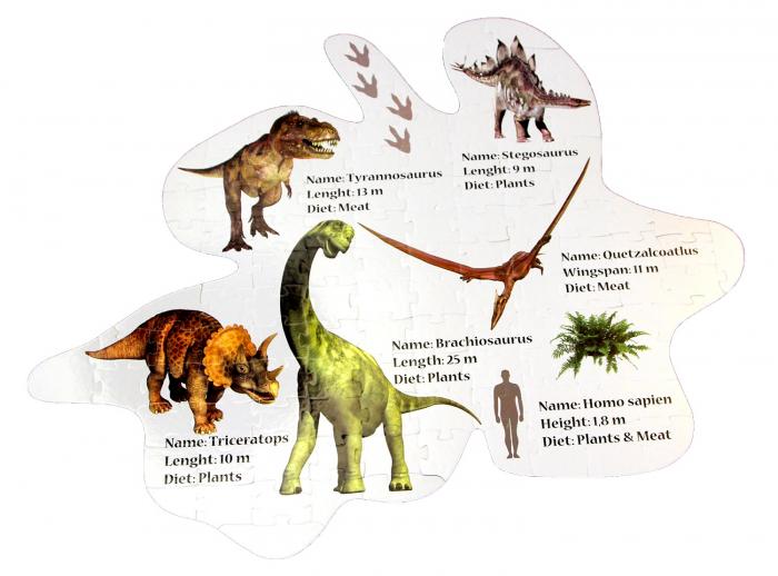 Puzzle Podea Dinozauri [1]