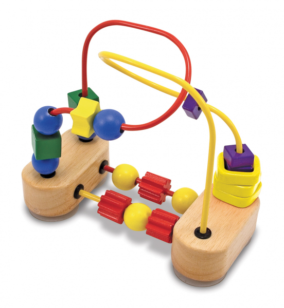 Roller-coaster cu margele Melissa and Doug 0