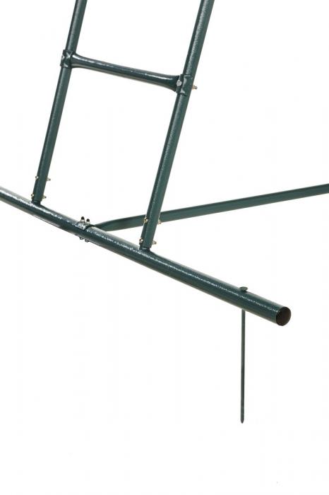 Scara tobogan 1.5 m inaltime verde KBT 4