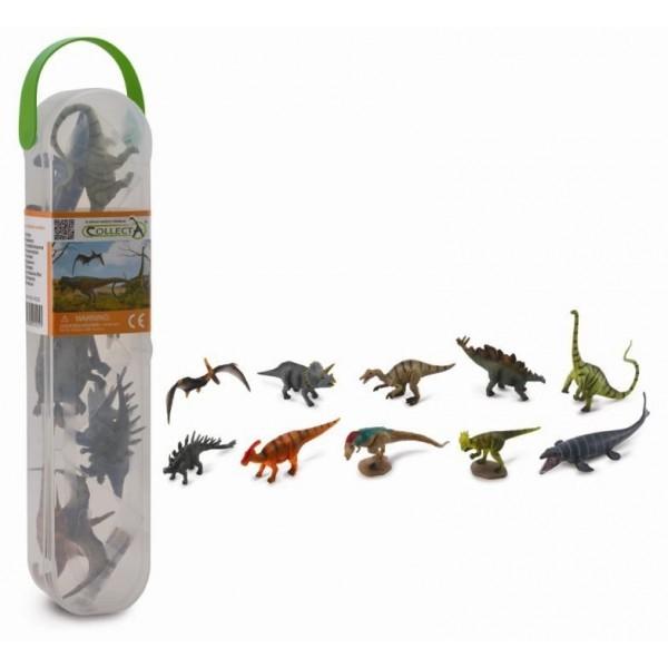 Set 10 mini dinozauri Collecta 1 2