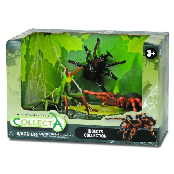 Set 3 figurine insecte Collecta 0