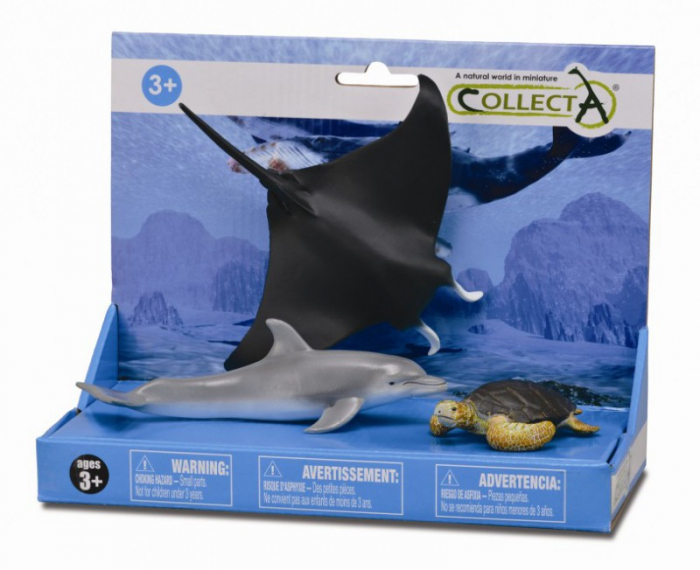 Set 3 figurine Viata marina - Collecta 0
