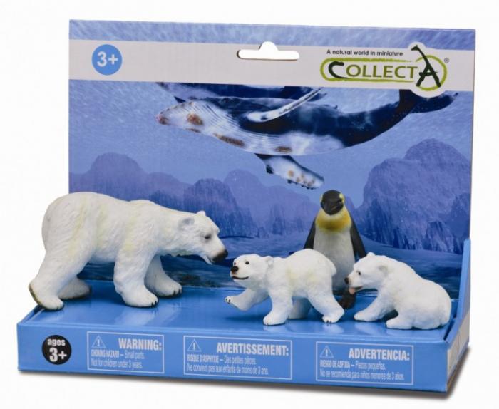 Set 4 figurine Viata marina - Collecta 0