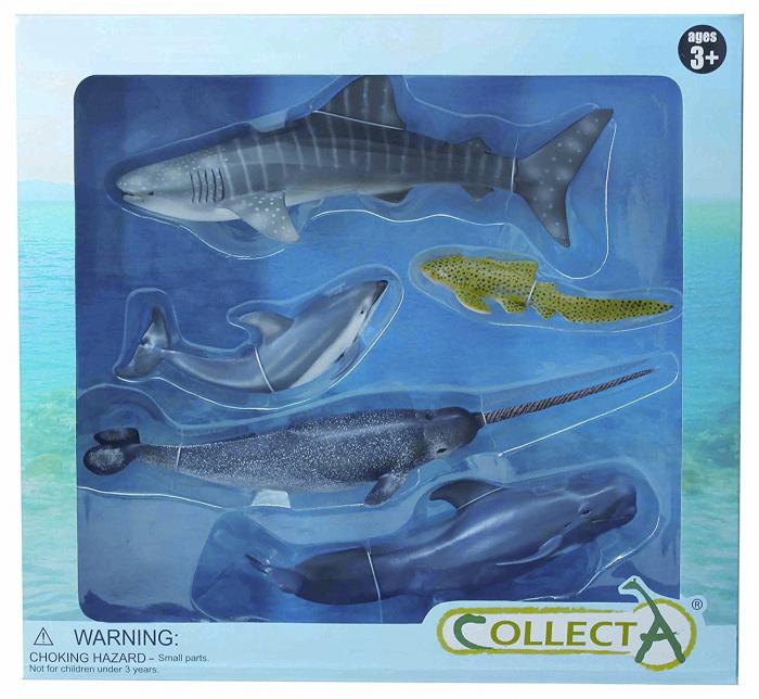 Set 5 figurine Lumea Acvatica Collecta 3