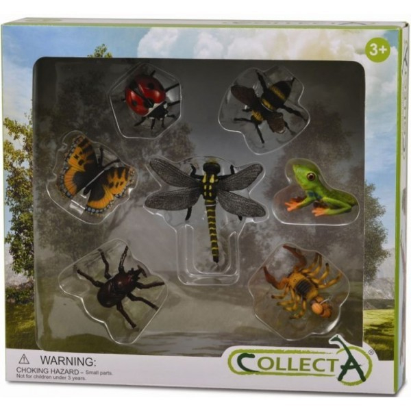 Set 7 figurine insecte Collecta 0