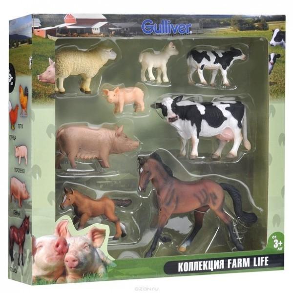Set 8 figurine viata la ferma Collecta 3