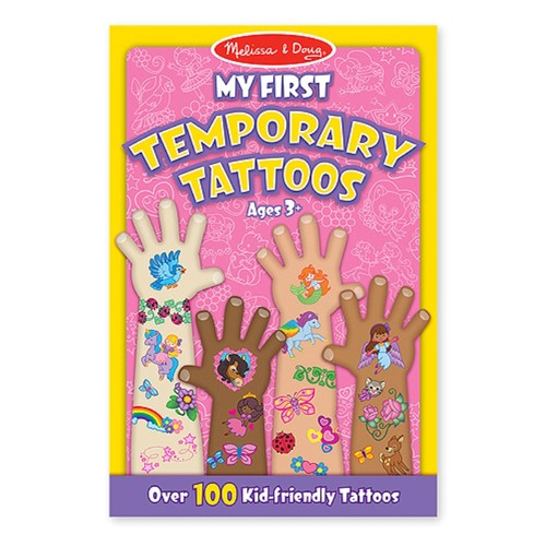 Set de tatuaje temporare Fetite Melissa and Doug 1