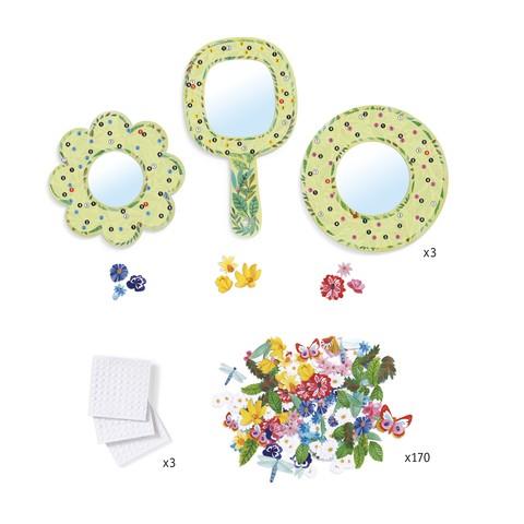 Set DIY Djeco|oglinzi inflorate 2