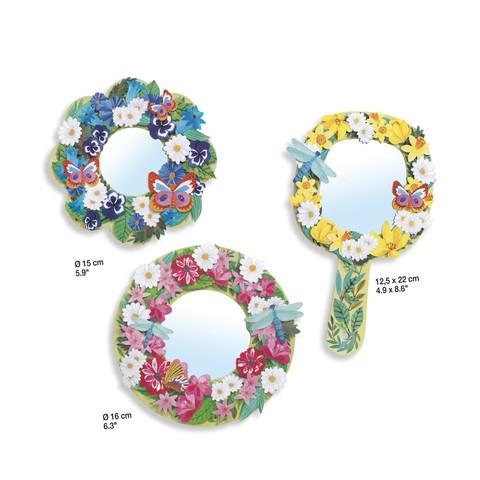 Set DIY Djeco|oglinzi inflorate 3