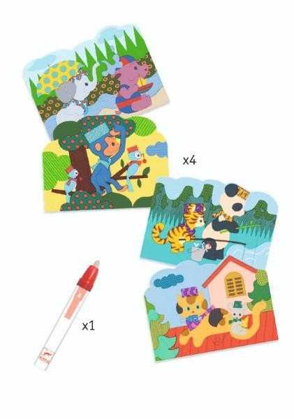 Set Djeco pictura cu apa, Joaca in natura 1