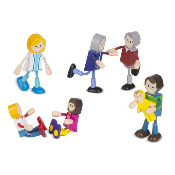 Set figurine flexibile Familia - Melissa & Doug 1