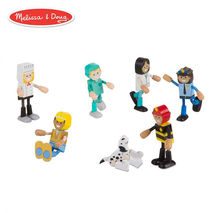 Set figurine flexibile Meserii - Melissa & Doug 0