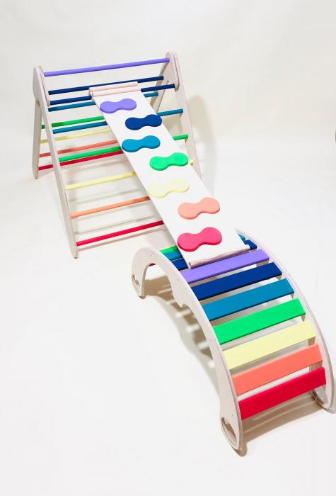 Triunghi PIKLER colorat + Rampa 3