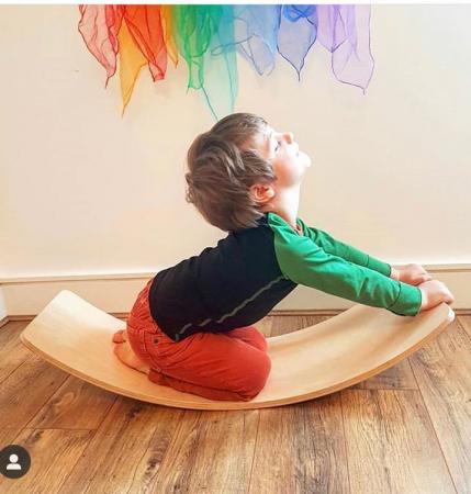 Placa echilibru cu margini colorate, Balance Board4