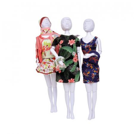 Atelierul de creatie vestimentara floral Couture, Dress Your Doll7