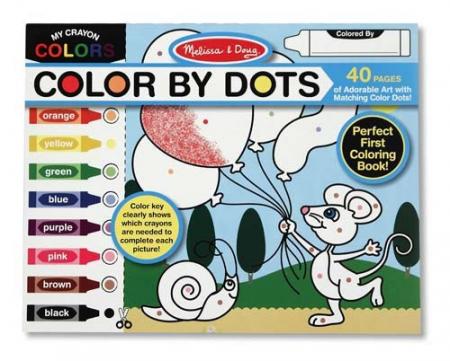 Bloc cu desene de colorat Melissa and Doug1