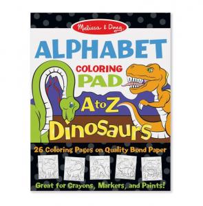 Bloc de desent Alfabetul dinozaurilor - Melissa & Doug0