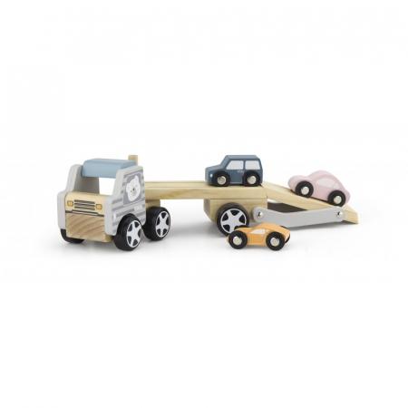 Camion transportor cu 3 masinute, PolarB Viga0