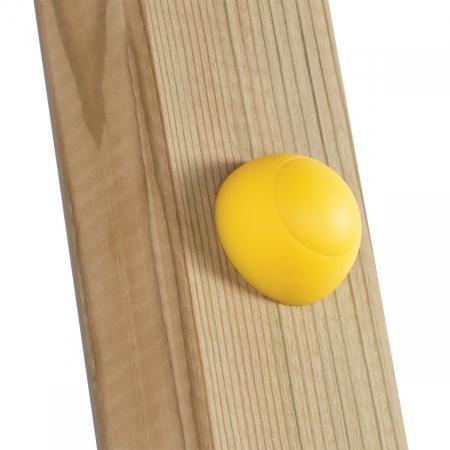 Capac de plastic 8/10 mm - galben KBT3