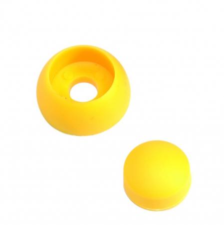 Capac de plastic 8/10 mm - galben KBT2