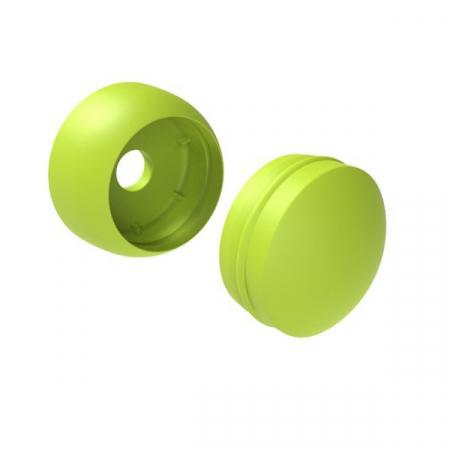 Capac de plastic 8/10 mm - verde deschis KBT1