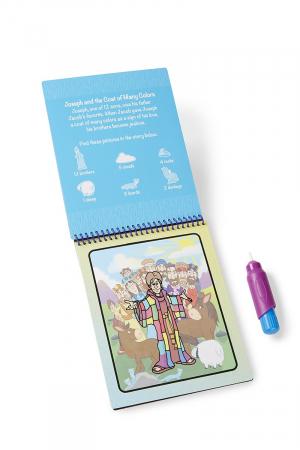 Carnet de colorat Apa Magica cu Povesti din Biblie - Melissa and Doug5