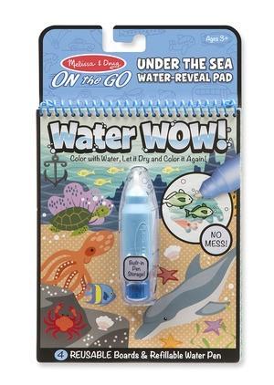 Carnet de colorat cu Apa magica Oceanul2