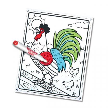 Carnetel de colorat Magicolor Animale de la ferma2