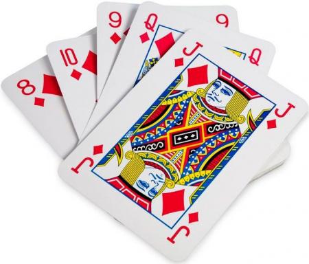 Carti de joc gigant Buitenspeel0