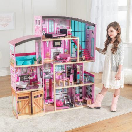 Casuta de joaca Shimmer Mansion11
