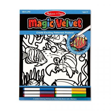 Catifeaua Magica Viata marina Melissa and Doug1
