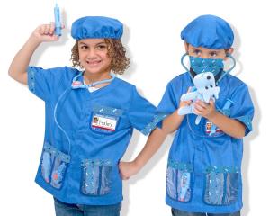 Costum carnaval copii Medic Veterinar Melissa and Doug0