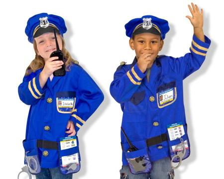 Costum carnaval copii Ofiter de Politie Melissa and Doug2
