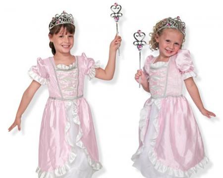 Costum de carnaval jocuri de rol Printesa Melissa and Doug1
