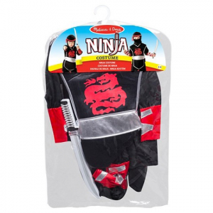 Costum de carnaval Ninja Super Melissa and Doug1