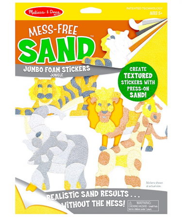 Creaza cu nisip Abtibilduri Jungla2