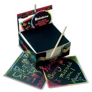 Cub notes hartie pentru scriere prin razuire Melissa and Doug0