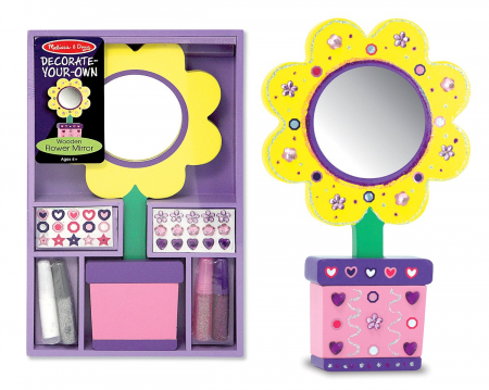 Decoreaza Oglinda floare Melissa and Doug1