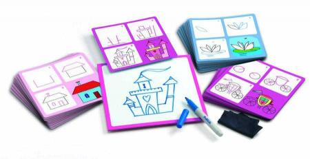 Deseneaza pas cu pas pentru fete1