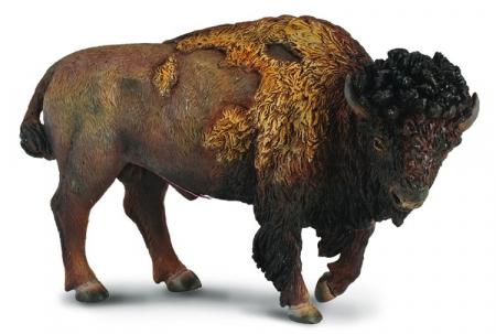 Figurina American Bison L Collecta3