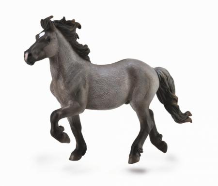Figurina Armasar Islandez Blue Dun XL Collecta3