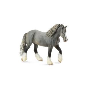 Figurina Cal Mare Gri Shire XL Collecta0