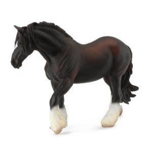 Figurina Cal Negru Shire XL Collecta0