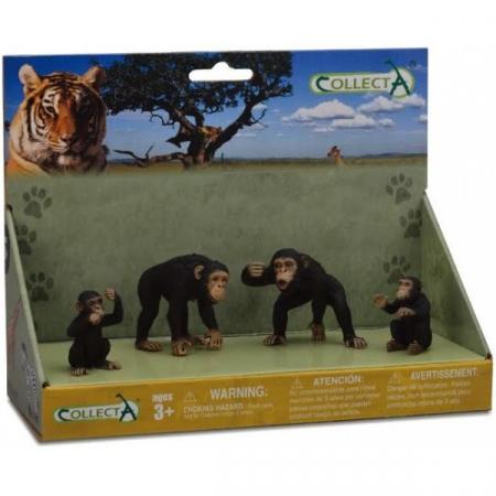 Figurina Familia Cimpanzeilor Collecta2
